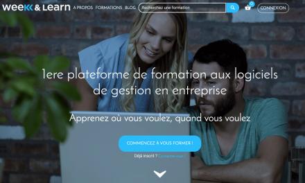 Weeknlearn, la nouvelle plateforme de formation dédiée aux outils en entreprise