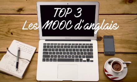 Top 3 des MOOC d'anglais