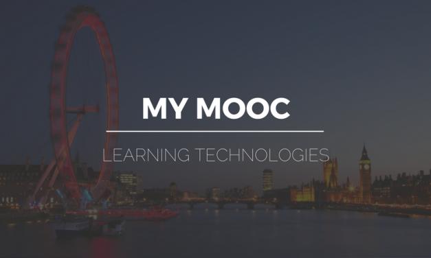 My Mooc au Learning Technologies UK