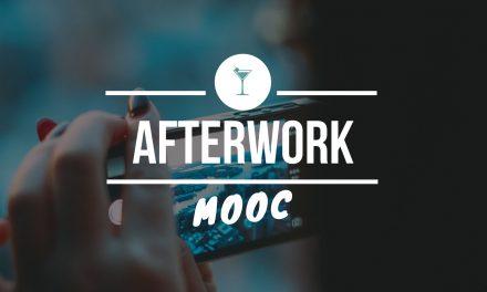 """1ère édition """"Afterwork MOOC"""""""