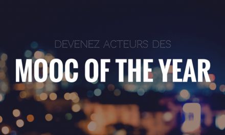 Le coup de coeur des internautes – Mooc Of The Year