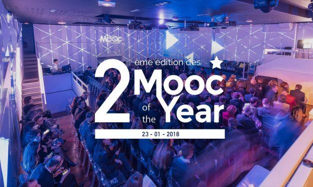 Les résultats de la 2ème édition des Mooc Of The Year !