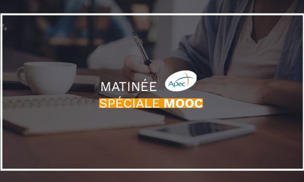 Matinée d'échanges spéciale MOOC à l'Apec
