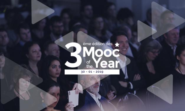 L'événement Mooc of the year revient pour une 3ème édition