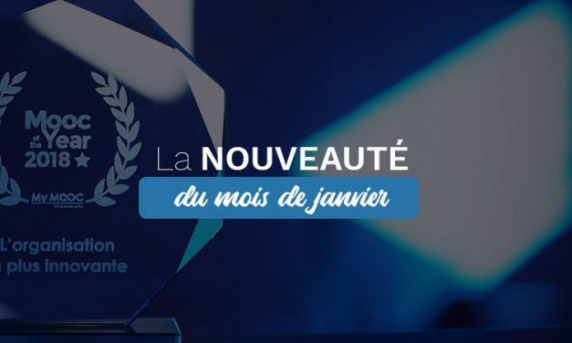La Nouveauté du mois : l'intégration des badges gagnants !