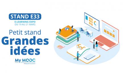 Rendez-vous au stand E33 de l'e-Learning Expo !
