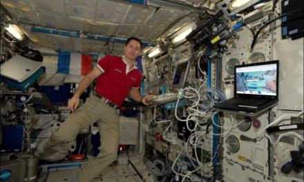 Thomas Pesquet utilisera My Mooc pour se former dans l'espace !