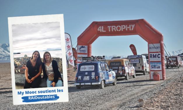 My Mooc soutient les RAIDoutables dans leur participation au 4L Trophy !