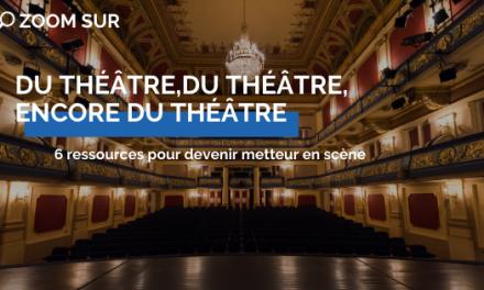 Du théâtre, du théâtre, encore du théâtre.