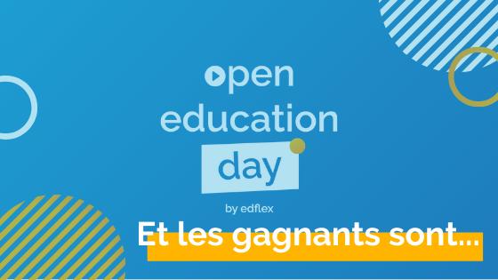 Open education day : et les gagnants sont…